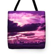 Crazy Sunset  Tote Bag
