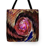 Crazy Swirl Art Tote Bag