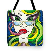 Crazy Teacher In Space Tote Bag