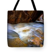 Crazy Woman Disappears Tote Bag