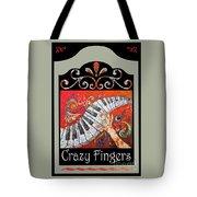 Crazyfingers_frame1 Tote Bag