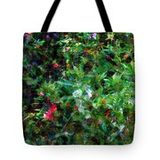 Crazyquilt Garden Tote Bag