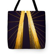 Crb Golden Tower Tote Bag