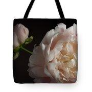 Cream And Pink Tote Bag