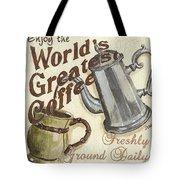 Cream Coffee 1 Tote Bag by Debbie DeWitt