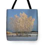 Creamer Field Tote Bag by Louise Magno