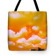Creamsicle Sky Tote Bag