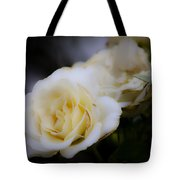 Creamy Dreamy Rose Tote Bag