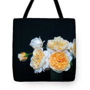 Creamy English Roses Tote Bag