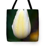 Creamy Lemony Tulip Tote Bag