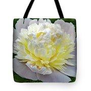Creamy Petals - Double Peony Tote Bag