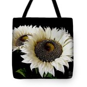 Creamy Sunflowers Tote Bag