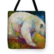 Creamy Vanilla - Kermode Spirit Bear Of Bc Tote Bag