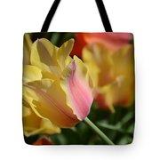 Creamy Yellow Tulip Tote Bag