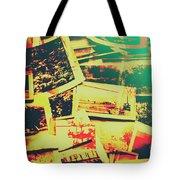 Creative Retro Film Photography Background Tote Bag