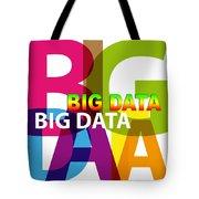 Creative Title - Big Data Tote Bag