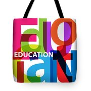 Creative Title - Education Tote Bag