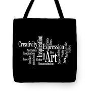 Creativity Art Inspiration Tote Bag