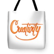 Creativity Tote Bag by Cindy Garber Iverson