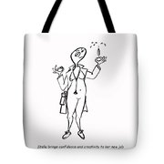 Creativity Not Required Tote Bag