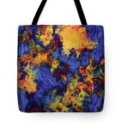 Creature From The Depth Tote Bag
