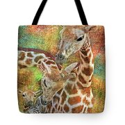 Creatures Great And Small Tote Bag