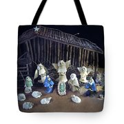 Creche Top View  Tote Bag by Nancy Griswold