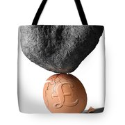 Credit Crunch Tote Bag