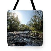 Creek And Bridge Tote Bag