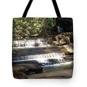 Creek At Table Rock Tote Bag