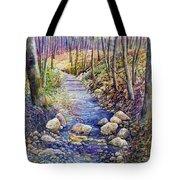 Creek Crossing Tote Bag