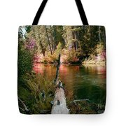 Creek Fall Tote Bag
