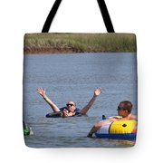 Creek Float Hands Tote Bag