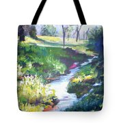 Creek Flow Tote Bag