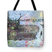 Creek Impressions #2 - Nocturne  Tote Bag