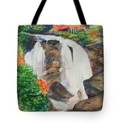Creek In Autumn Tote Bag