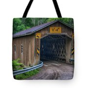 Creek Road Bridge Tote Bag