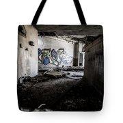 Creepy Hallway Tote Bag