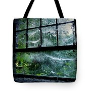 Creepy Old Window Tote Bag