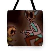 Creepy Rick Tote Bag