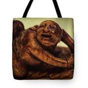 Creepy Things On The Mantel 4 Tote Bag