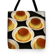 Creme Caramel Dessert Tote Bag