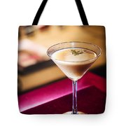 Creme Caramel Martini Cocktail In Bar Tote Bag