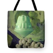 Creme De Menthe With Grapes Tote Bag