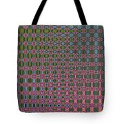 Crepe Myrtle Abstract Tote Bag
