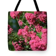 Crepe Myrtle Blossoms 2 Tote Bag