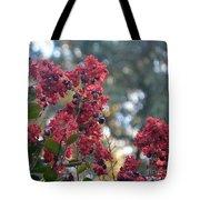 Crepe Myrtle Tree Blossoms Tote Bag