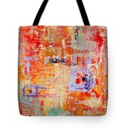 Crescendo Tote Bag by Pat Saunders-White