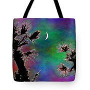 Crescent And Palms 2 Tote Bag