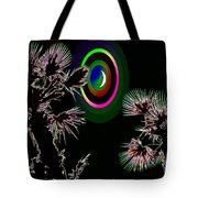 Crescent And Palms 3 Tote Bag